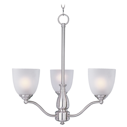 Maxim Lighting Maxim Lighting Stefan Satin Nickel Chandelier 10064FTSN