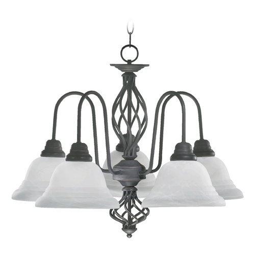 Quorum Lighting Quorum Lighting Old World Chandelier 6454-5-95