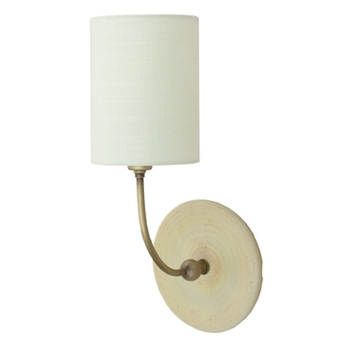 House of Troy Lighting House Of Troy Scatchard Oatmeal Wall Lamp GS775-ABOT
