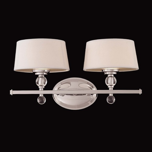 Savoy House Savoy House Polished Nickel Bathroom Light 8-1041-2-109