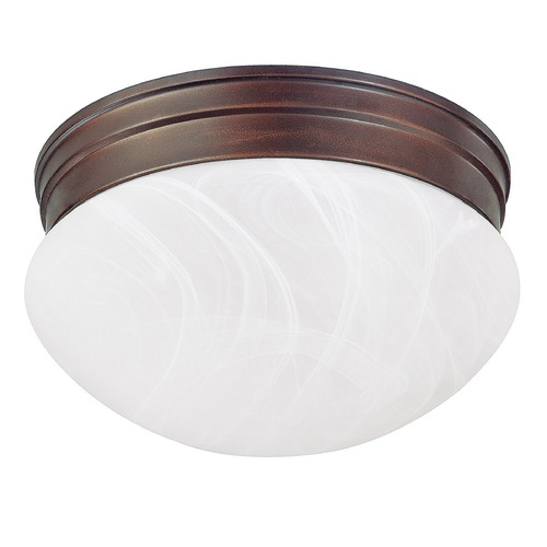 Capital Lighting Capital Lighting Burnished Bronze Flushmount Light 5676BB