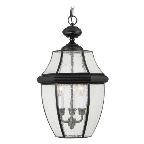 Quoizel Lighting Quoizel Newbury Mystic Black Outdoor Hanging Light NY1912K