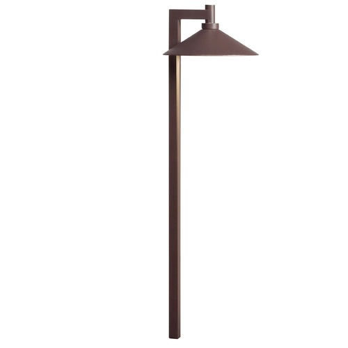 Kichler Lighting Kichler Lighting Textured Architectural Bronze LED Path Light 15800AZT30R