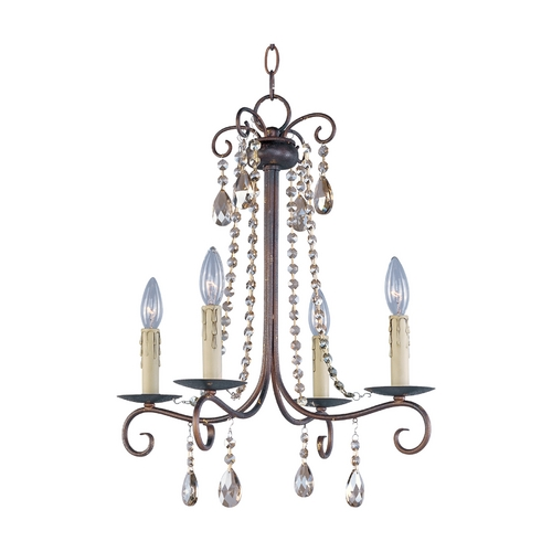 Maxim Lighting Mini-Chandelier in Urban Rustic Finish 22194UR