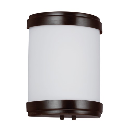 Sea Gull Lighting Sea Gull Lighting Ada Wall Sconces Burnt Sienna Finish 49334BLE-710