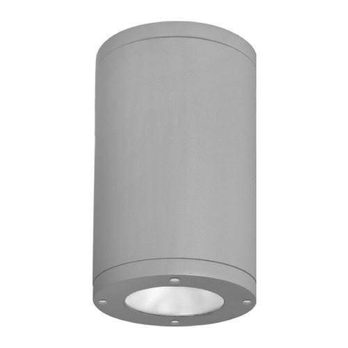 WAC Lighting 8-Inch Graphite LED Tube Architectural Flush Mount 3000K 3770LM DS-CD08-N30-GH