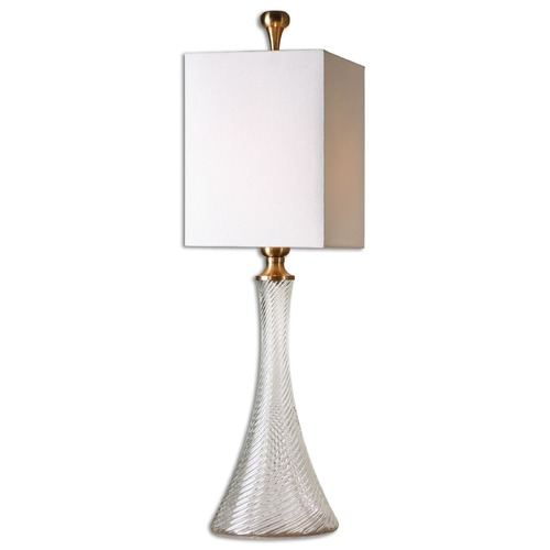 Uttermost Lighting Uttermost Ballina Fluted Glass Table Lamp 29987-1