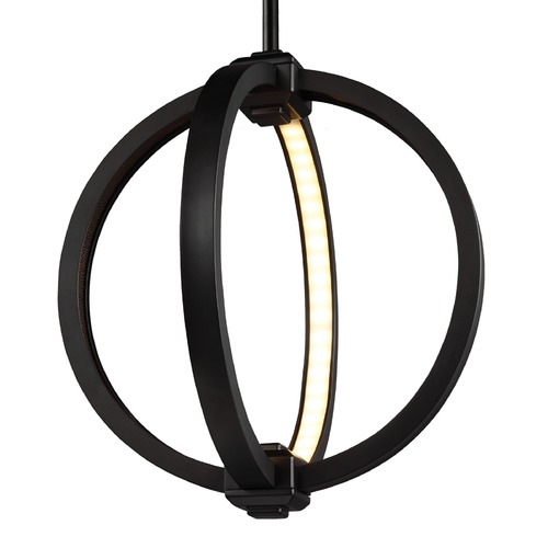 Feiss Lighting Feiss Khloe Oil Rubbed Bronze LED Pendant Light P1391ORB