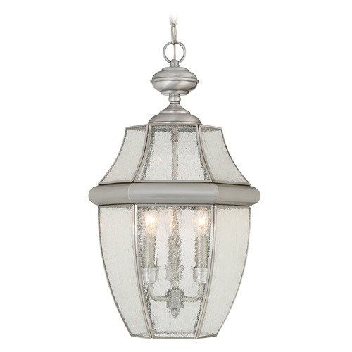 Quoizel Lighting Quoizel Newbury Pewter Outdoor Hanging Light NY1912P
