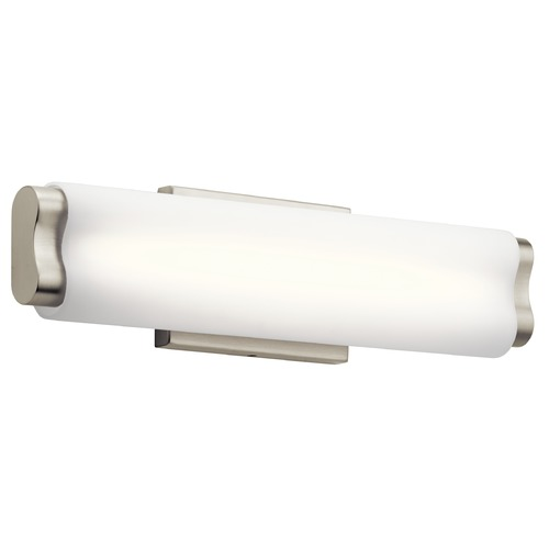 Elan Lighting Elan Lighting Kaz Brused Nickel LED Bathroom Light 83814