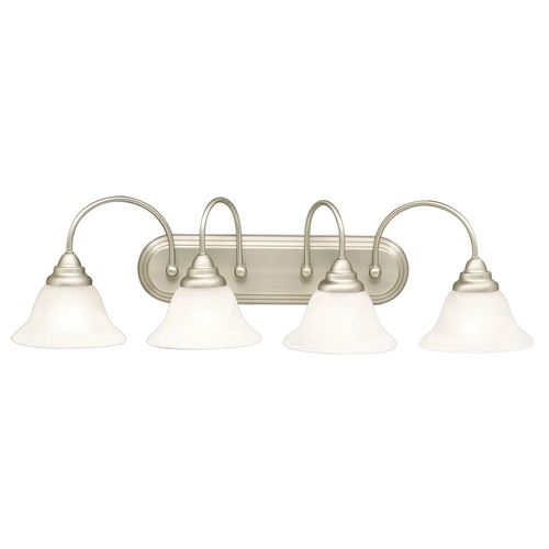 Kichler Lighting Kichler Bathroom Light in Brushed Nickel Finish 5994NI