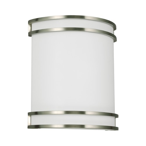 Sea Gull Lighting Sea Gull Lighting Ada Wall Sconces Brushed Nickel Finish 49335BLE-962