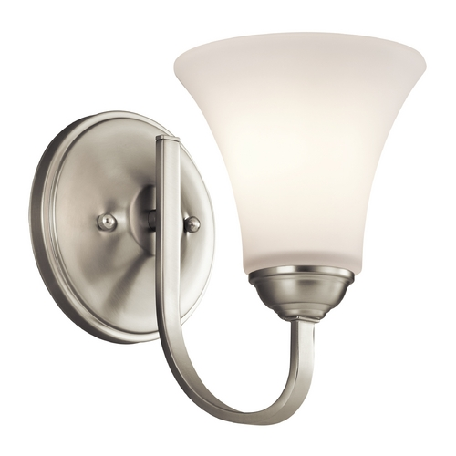 Kichler Lighting Kichler Lighting Keiran Brushed Nickel Sconce 45504NI