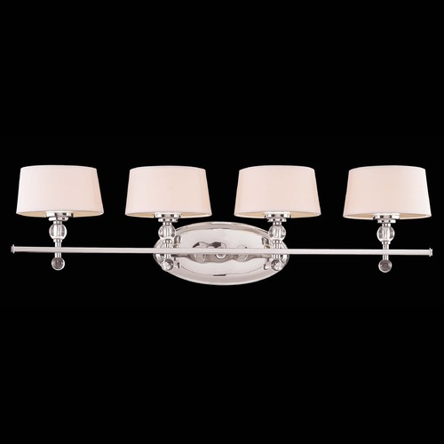 Savoy House Savoy House Polished Nickel Bathroom Light 8-1041-4-109