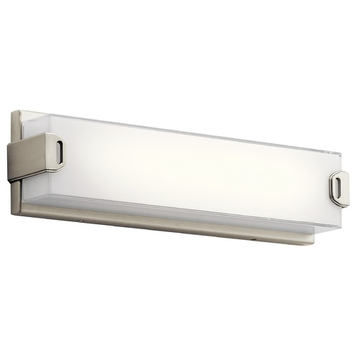 Elan Lighting Elan Lighting Xeo Brused Nickel LED Bathroom Light 83824