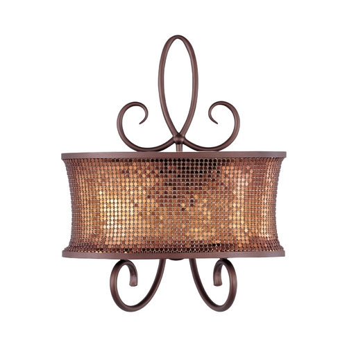 Maxim Lighting Maxim Lighting Alexander Umber Bronze Sconce 24168SBUB