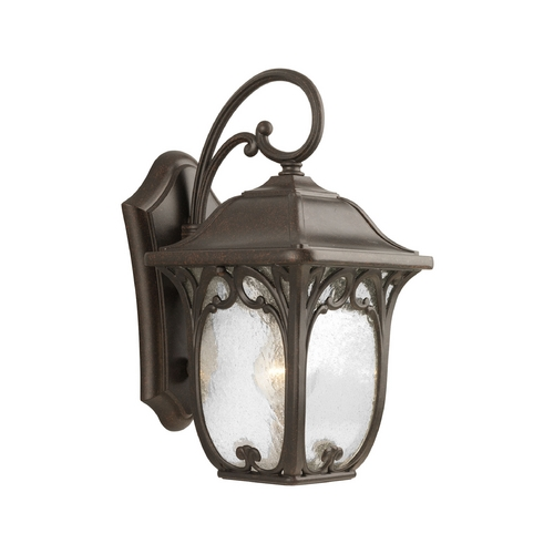 Progress Lighting Progress Outdoor Wall Light with Clear Glass in Espresso Finish P5959-84