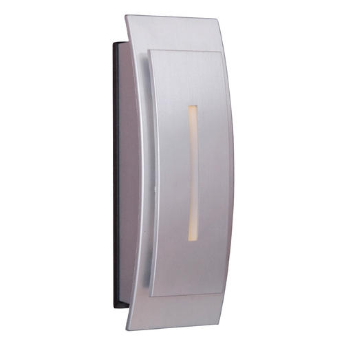 Craftmade Lighting Craftmade Lighting Tieber Brushed Nickel Doorbell Button TB1020-BN