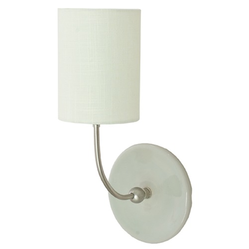 House of Troy Lighting House Of Troy Scatchard Gray Gloss Wall Lamp GS775-SNGG