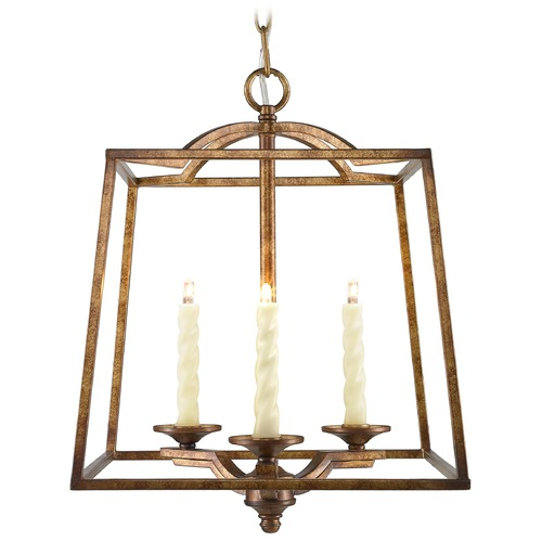 Golden Lighting Golden Lighting Athena Grecian Gold Pendant Light 3071-3P GG