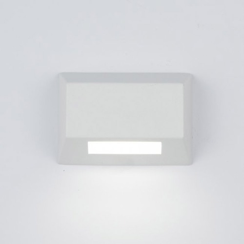WAC Lighting LED 12V Rectangle Deck and Patio Light 3031-27WT