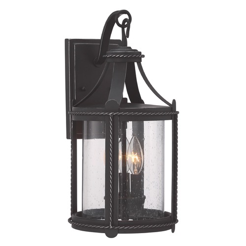 Designers Fountain Lighting Designers Fountain Palencia Artisan Pardo Wash Outdoor Wall Light 33631-APW