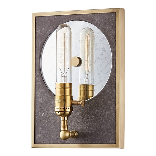 Mitzi by Hudson Valley Mitzi By Hudson Valley Mitzi Ripley Aged Brass Sconce H297101-AGB