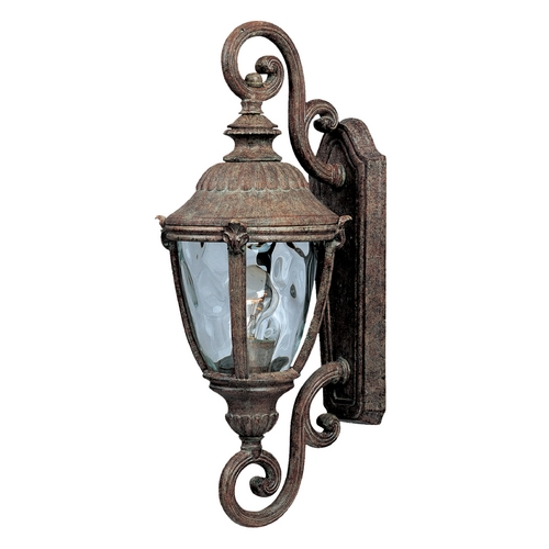 Maxim Lighting Outdoor Wall Light with Clear Glass in Earth Tone Finish 40287WGET