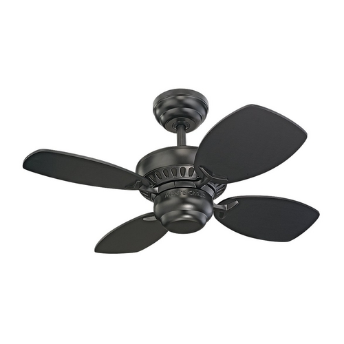Monte Carlo Fans Colony II Fan Without Light 4CO28BK