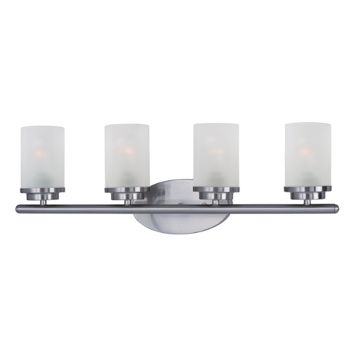 Maxim Lighting Maxim Lighting Corona Satin Nickel Bathroom Light 10214FTSN