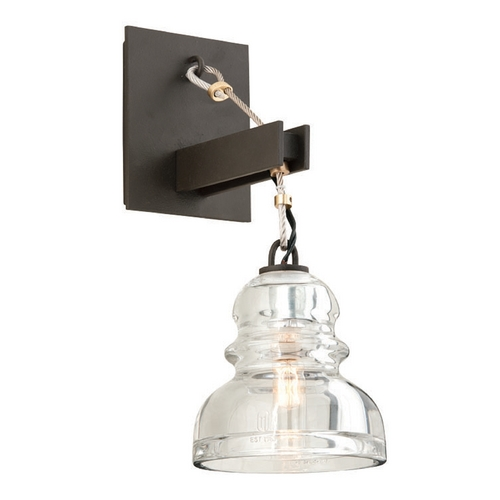Troy Lighting Troy Lighting Menlo Park Bronze Sconce B3971