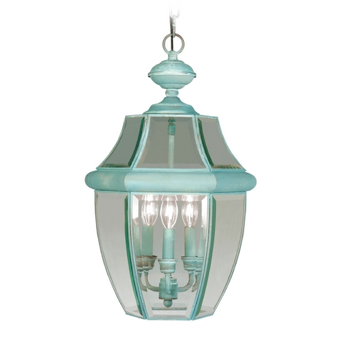 Livex Lighting Livex Lighting Monterey Verdigris Outdoor Hanging Light 2355-06