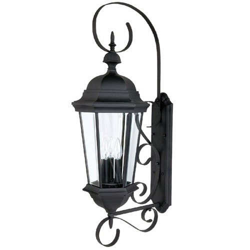 Capital Lighting Capital Lighting Carraige House Black Outdoor Wall Light 9723BK
