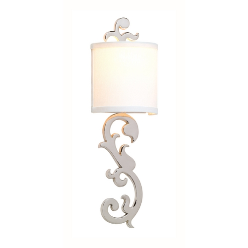 Corbett Lighting Corbett Lighting Romeo Polished Nickel Sconce 152-11