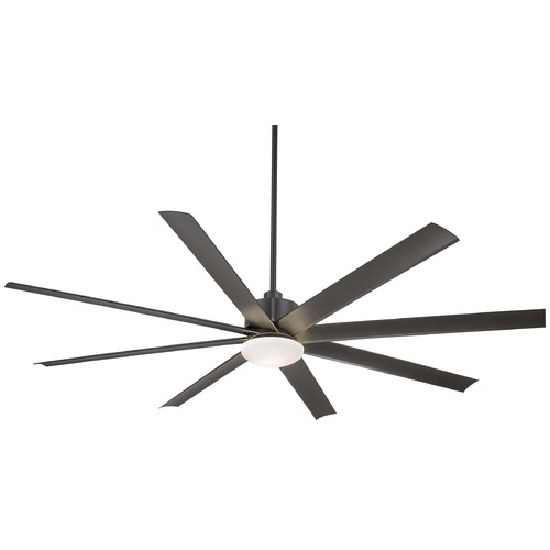 Minka Aire Minka Aire Fans Slipstream Xxl Smoked Iron Ceiling Fan with Light F889-SI