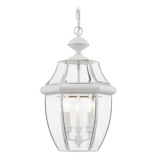 Livex Lighting Livex Lighting Monterey White Outdoor Hanging Light 2355-03