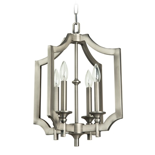 Jeremiah Lighting Jeremiah Lighting Lisbon Antique Nickel Pendant Light 37344-AN