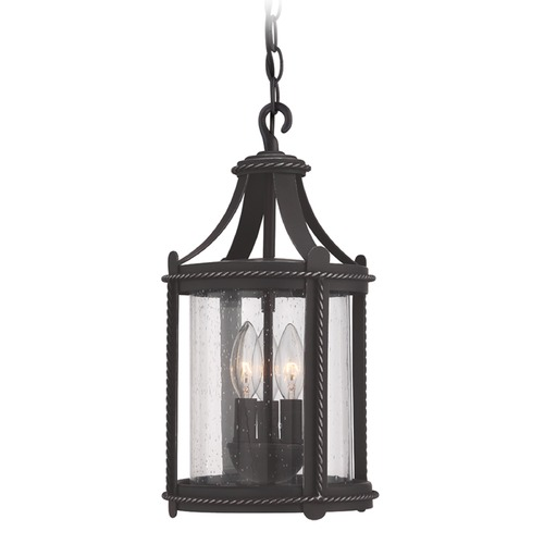 Designers Fountain Lighting Designers Fountain Palencia Artisan Pardo Wash Outdoor Hanging Light 33634-APW