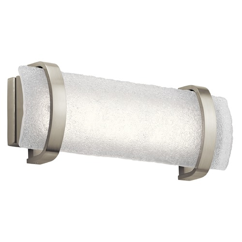 Elan Lighting Elan Lighting Adara Brushed Nickel LED Bathroom Light 83877