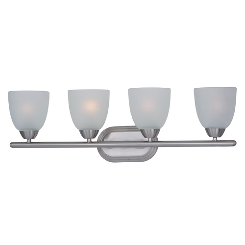 Maxim Lighting Maxim Lighting Axis Satin Nickel Bathroom Light 11314FTSN