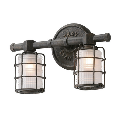 Troy Lighting Troy Lighting Mercantile Vintage Bronze Bathroom Light B3842