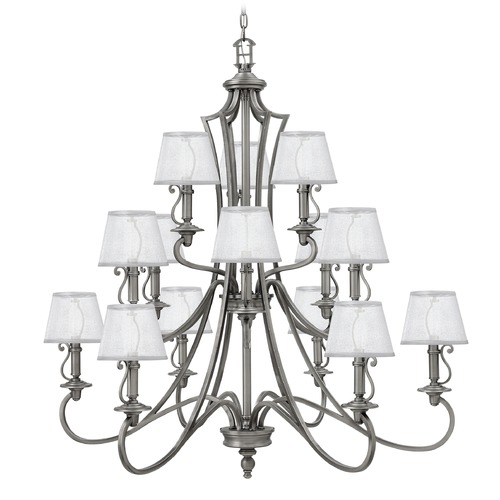 Hinkley Lighting Hinkley Lighting Plymouth Polished Antique Nickel Chandelier 4249PL
