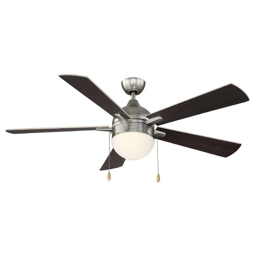Savoy House Savoy House Lighting Juneau Satin Nickel Ceiling Fan with Light 52-150-5RV-SN