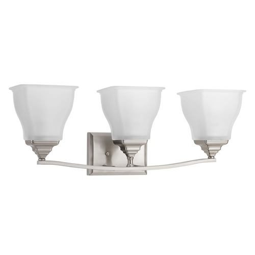 Progress Lighting Progress Lighting Callison Brushed Nickel Bathroom Light P2177-09