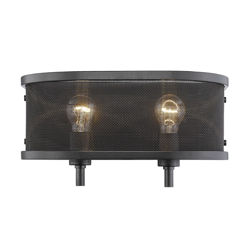 Golden Lighting Golden Lighting Colson Eb Etruscan Bronze Bathroom Light 3167-BA2 EB