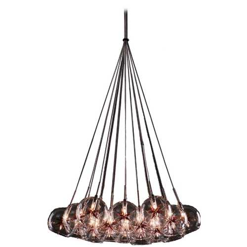 ET2 Lighting Modern Low Voltage Multi-Light Pendant Light 19-Lights E20113-25