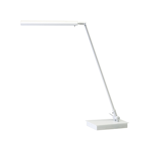 House of Troy Lighting Modern LED Task / Reading Lamp in White Finish G350-WT