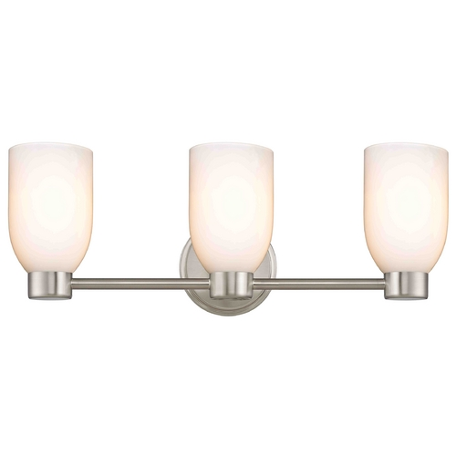 Design Classics Lighting Aon Fuse Satin Nickel Bathroom Light 1803-09 GL1024D