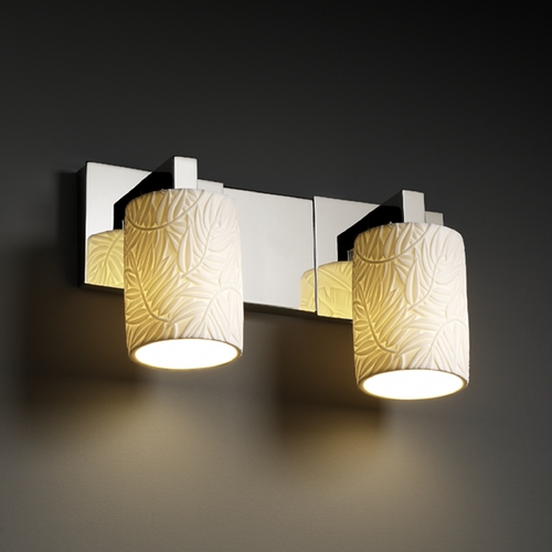 Justice Design Group Justice Design Group Limoges Collection Bathroom Light POR-8922-10-BMBO-CROM