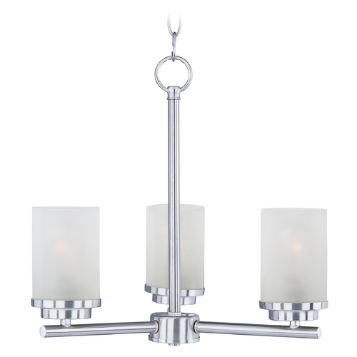 Maxim Lighting Maxim Lighting Corona Satin Nickel Chandelier 10203FTSN
